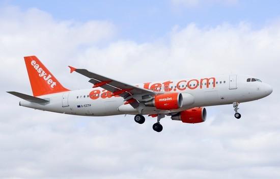 самолет Easyjet Europe